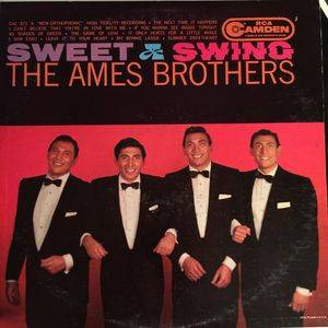 Cover - Ames Brothers, The: Sweet And Swing