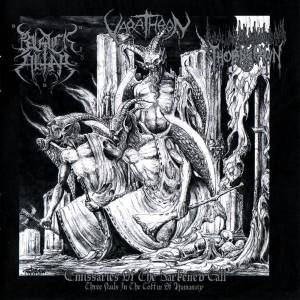 Cover - Varathron: Emissaries Of The Darkened Call - Three Nails In The Coffin Of Humanity