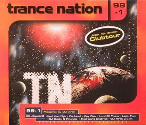 Cover - Planet Fuse: Trance Nation 99-1