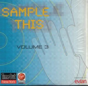 Sample This Volume 3 Presented By: Time Out New York | Virgin Megastore - Cover