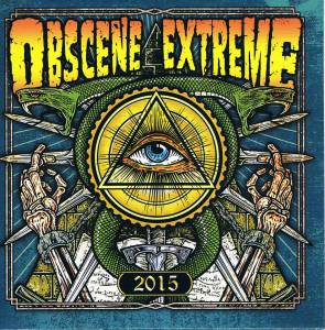 Cover - 7 Minutes Of Nausea: Obscene Extreme 2015