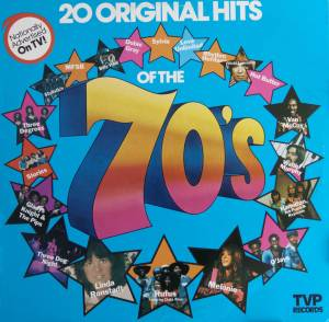 Cover - Stories: 20 Original Hits Of The 70's