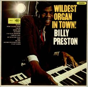 Cover - Billy Preston: Wildest Organ In Town!