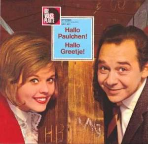 Cover - Greetje Kauffeld: Hallo Paulchen! - Hallo Greetje!