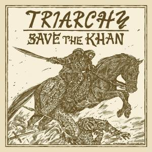 Triarchy: Save The Khan - Cover
