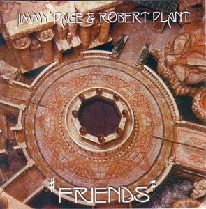 Cover - Jimmy Page & Robert Plant: Friends