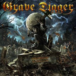 Grave Digger: Exhumation (The Early Years) - Cover