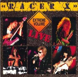 Racer X: Extreme Volume - Live - Cover