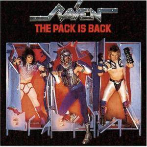 Raven: Pack Is Back, The - Cover