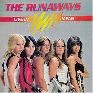 The Runaways: Live In Japan - Cover