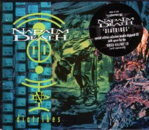 Napalm Death: Diatribes - Cover