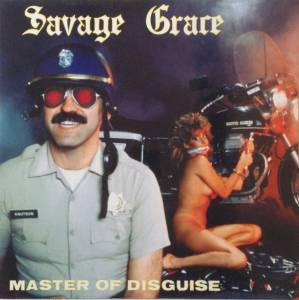 Savage Grace: Master Of Disguise - Cover