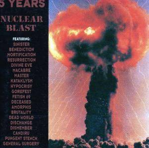 5 Years Nuclear Blast - Cover