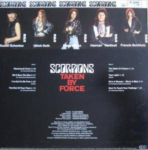 Scorpions: Taken By Force (LP) - Bild 2