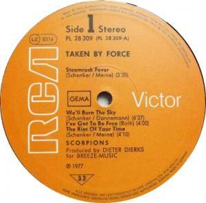 Scorpions: Taken By Force (LP) - Bild 5