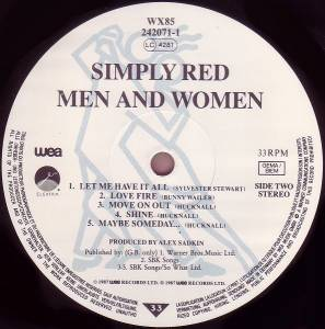 Simply Red: Men And Women (LP) - Bild 6