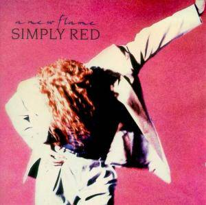 Simply Red: New Flame, A - Cover