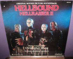 Christopher Young: Hellbound - Hellraiser II - Cover