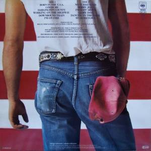 Bruce Springsteen: Born In The U.S.A. (LP) - Bild 2
