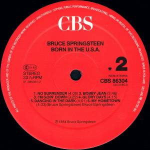 Bruce Springsteen: Born In The U.S.A. (LP) - Bild 4