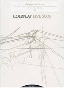 Coldplay: Live 2003 - Cover