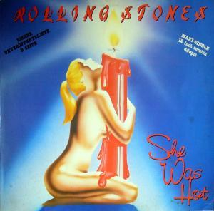 Rolling Stones, The: She Was Hot - Cover