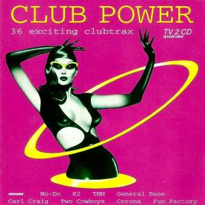Cover - DJ Dero: Club Power - 36 Exciting Clubtrax