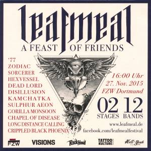 Leafmeal - A Feast Of Friends (27. Nov. 2015) - Cover