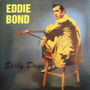 Cover - Eddie Bond: Early Days