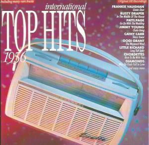 Cover - Cathy Carr: International Top Hits 1956