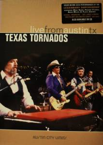 Texas Tornados: Live From Austin TX - Cover