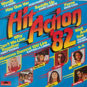 Hit Action '82 - Cover