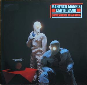 Manfred Mann's Earth Band: Somewhere In Afrika - Cover