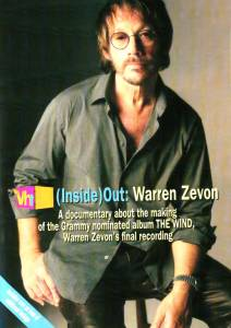 Warren Zevon: Vh1 (Inside) Out: Warren Zevon - Cover