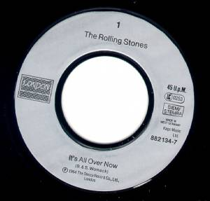 "The Rolling Stones: It's All Over Now (7"") - Bild 2"