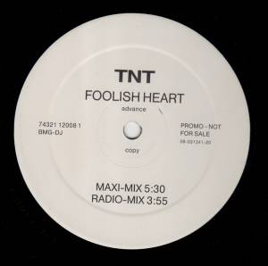 TNT: Foolish Heart - Cover