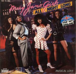 Cover - Mary Jane Girls: All Night Long