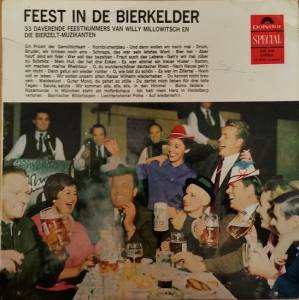 Cover - Willy Millowitsch: Feest In De Bierkeller