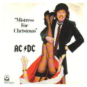 AC/DC: Mistress For Christmas - Cover