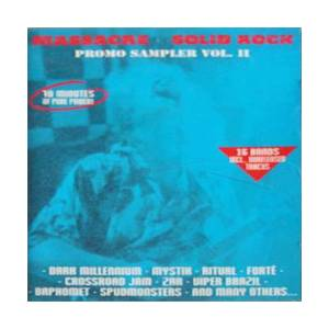 Cover - Mystik: Massacre Solid Rock Promo Sampler Vol. II