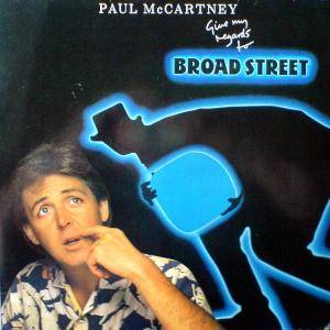 Paul McCartney: Give My Regards To Broad Street - Cover