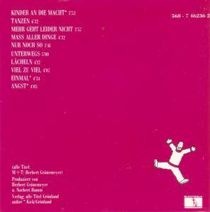 Herbert Grönemeyer: Sprünge (CD) - Bild 2