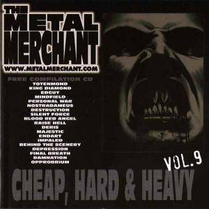 Cover - Andi Deris: Metal Merchant - Cheap, Hard & Heavy Vol. 09, The