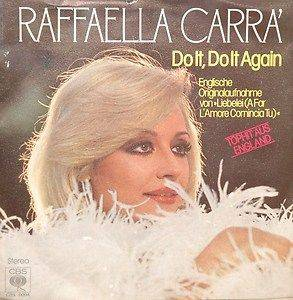 Raffaella Carrá: Do It, Do It Again - Cover
