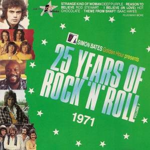 Cover - Bob & Marcia: 25 Years Of Rock'n'Roll 1971 - Volume 2