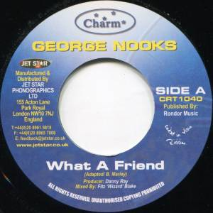 Cover - George Nooks: What A Friend