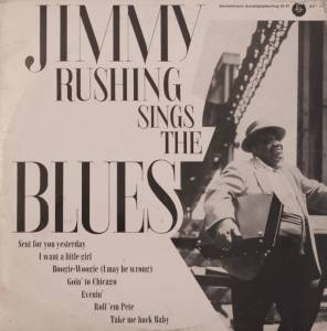 Cover - Jimmy Rushing: Jimmy Rushing Sings The Blues