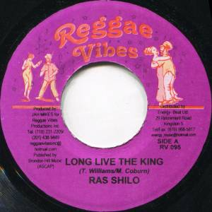 Cover - Frankie Paul: Long Live The King / Crazy Love