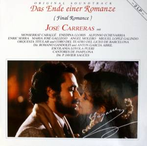 José Carreras: Ende Einer Romanze (Final Romance) - Original Soundtrack, Das - Cover