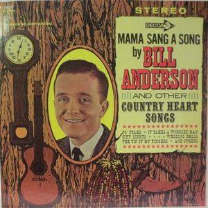 Cover - Bill Anderson: Bill Anderson Sings Country Heart Songs